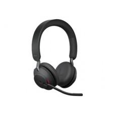 Jabra Evolve2 65 MS Stereo - Headset med laddningsställ